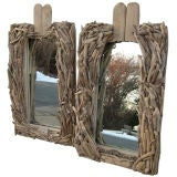 Driftwood Twig Mirrors