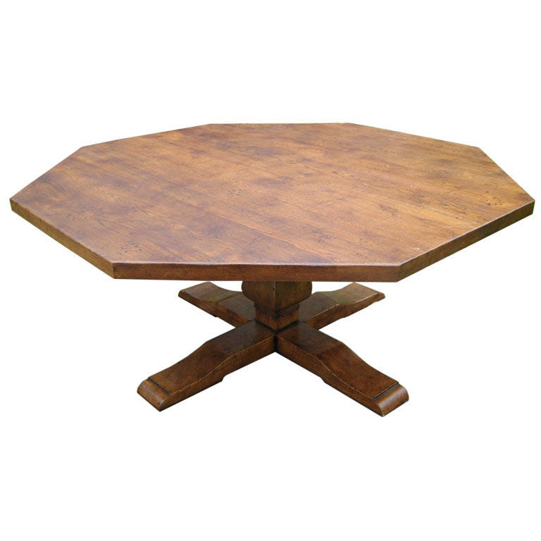 Octagonal Dining Room Table