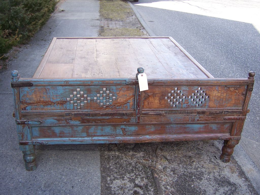 Antique Indian Coffee Table At 1stdibs