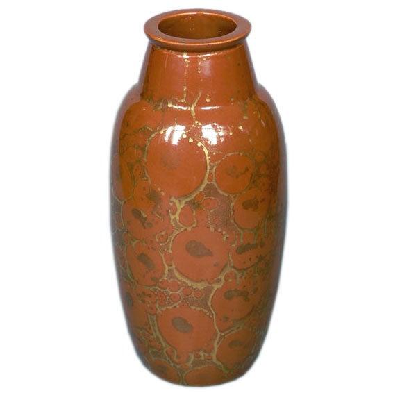 Art deco period vase by brisdoux at 1stdibs for Art deco era dates