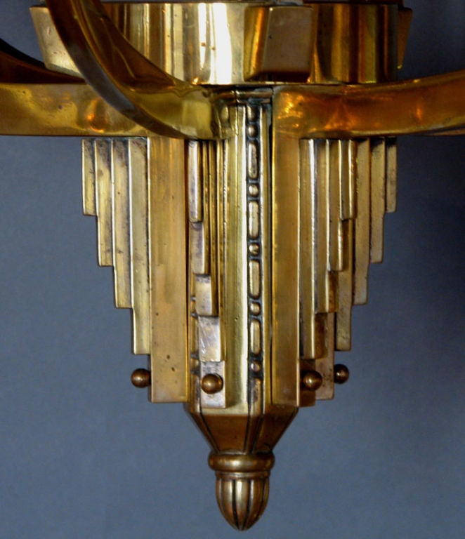 Art Deco Chandelier For Sale At 1stdibs