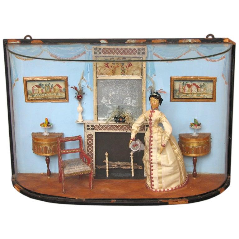 Miniature Interior Diorama by Helen Bruce