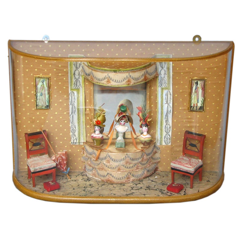 Miniature Interior Diorama By Helen Bruce At 1stdibs