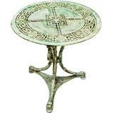 Napoleon III Cast Iron Table