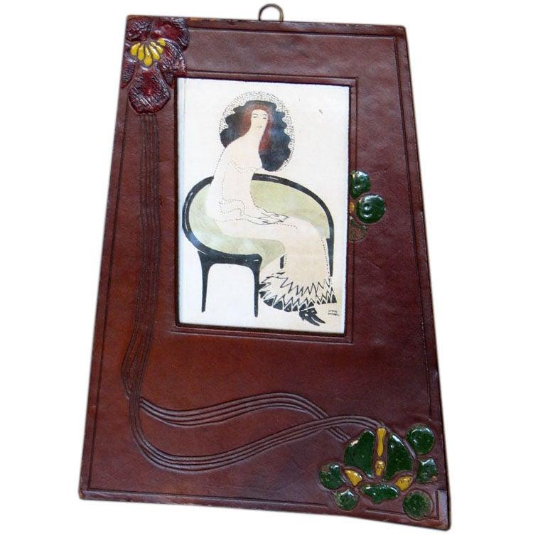 Jugendstil Period Picture Frame