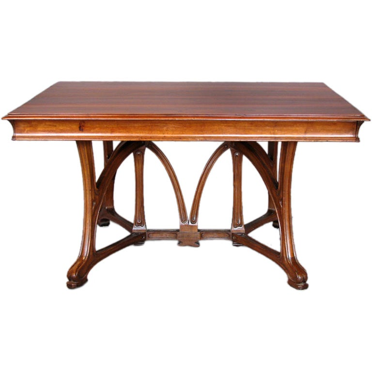 Art Nouveau Dining Table At 1stdibs