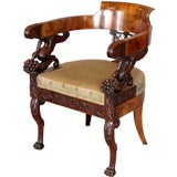 Exceptional Early 19th Century Neopolitan Armchair