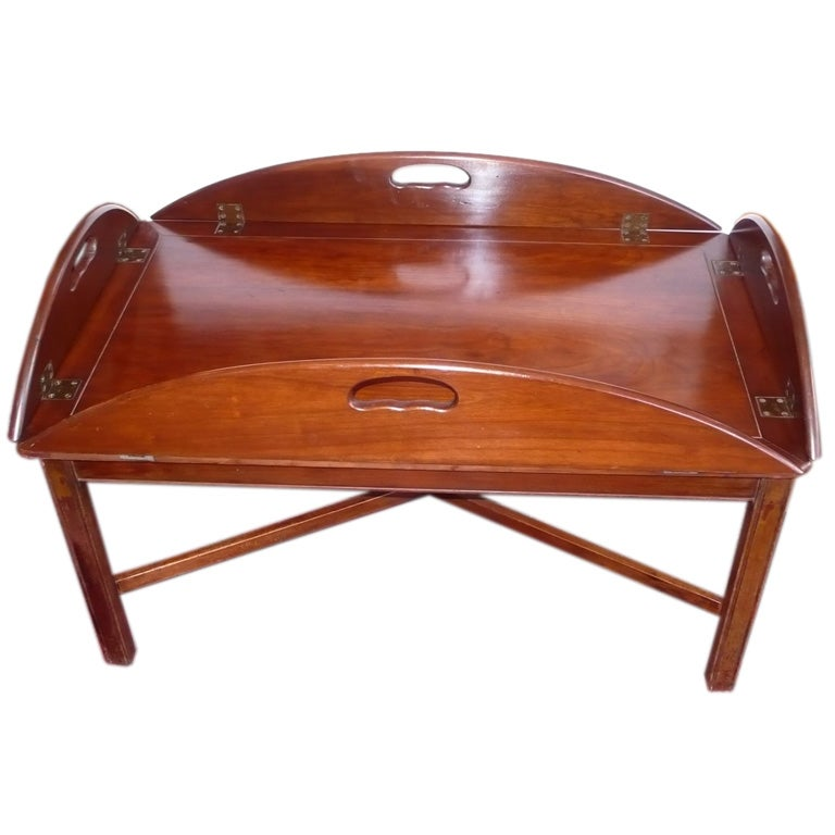 Vintage Butler Coffee Table: Butler's Tray Table Coffee Table At 1stdibs