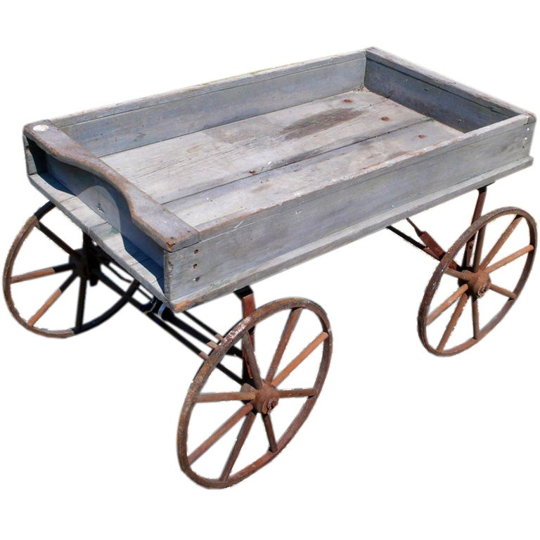 Small Scale Antique Wagon At 1stdibs