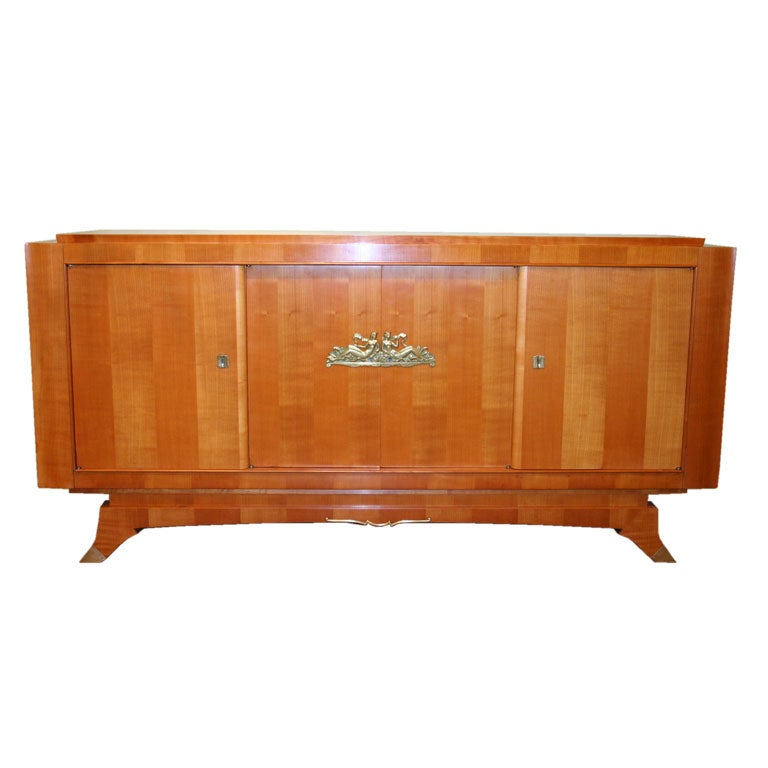 French s wild cherry wood sideboard at stdibs