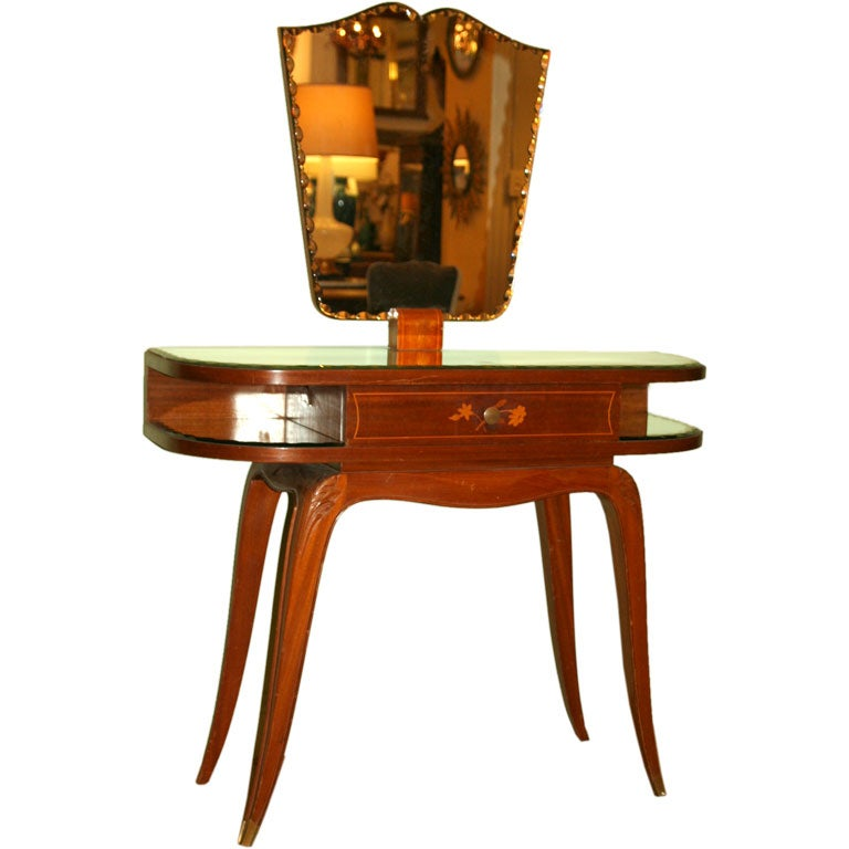 Mahogany Vanity Table At 1stdibs