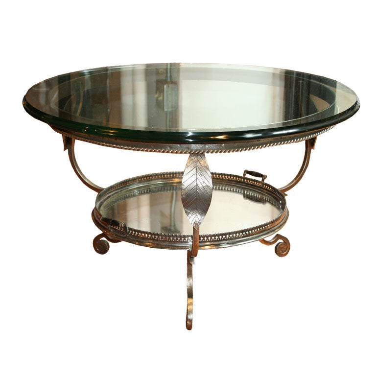 Unique Coffee Table Tray: Unusual Vintage Coffee Table With Tray At 1stdibs