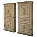 Pair of Canvas Bookcases