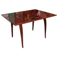 Convertible Walnut Console Table