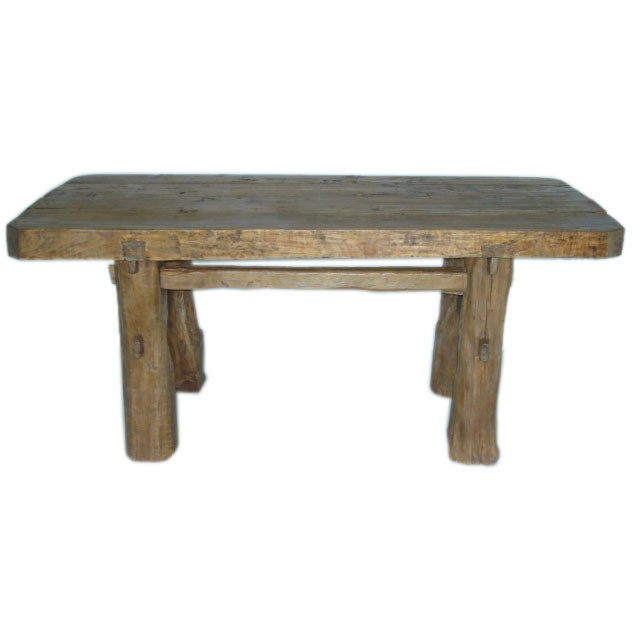4quot Thick Elmwood Plank Top Dining Table at 1stdibs : dsc00928 from www.1stdibs.com size 639 x 639 jpeg 21kB