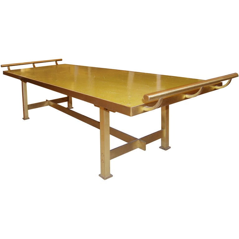 Harvey probber brass coffee table at 1stdibs for Harveys coffee tables