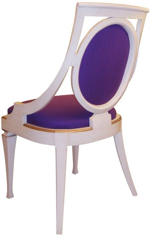Set Of 6 John Widdicomb Dining Chairs 2