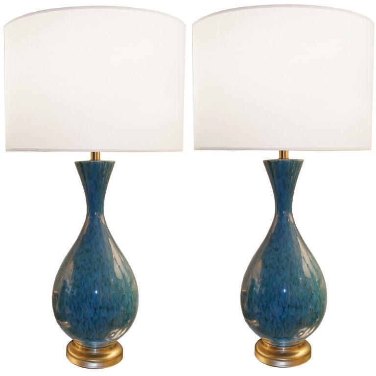 Green Ceramic Table Lamps