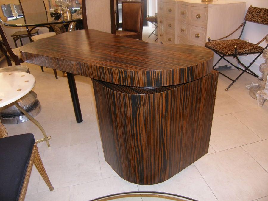 Macassar Ebony Desk By Craig Van Den Brulle 3