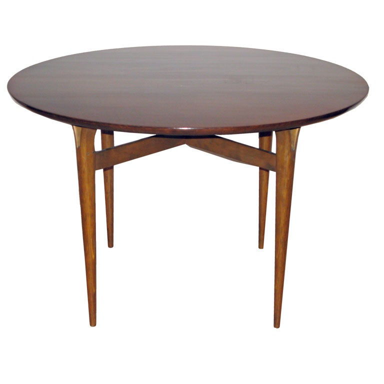 Round side table with signature y legs by bruno mathsson for 12 inch accent table