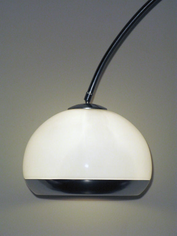 Arc Floor Lamp With Illuminating Shade By Guzzini At 1stdibs