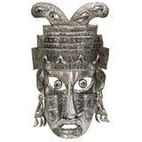 Large Wall-Hanging Tribal Mask