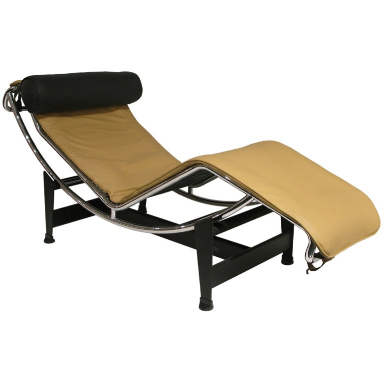 Lc 4 chaise by le corbusier at 1stdibs for Chaise corbusier