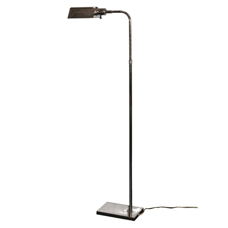 reading lamp in chrome by kovacs at 1stdibs On best floor reading lamps
