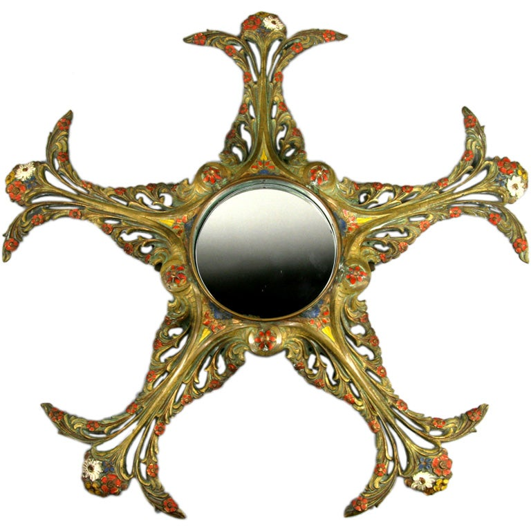 Late 19th Century Art Mirror For Sale