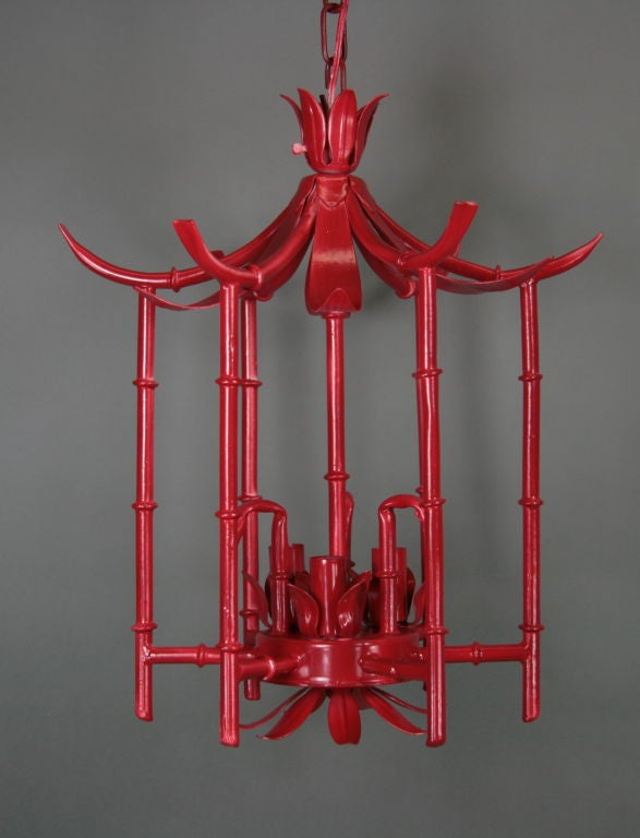 Red Bamboo Pagoda At 1stdibs