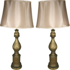 Pair of Italian Ceramic Lamps