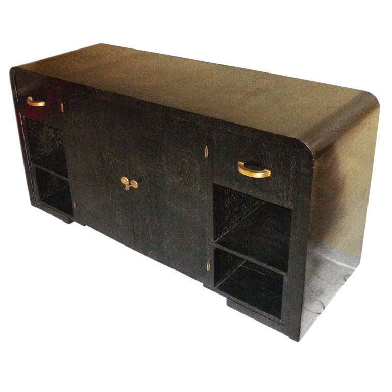 Blackened Oak Cabinet