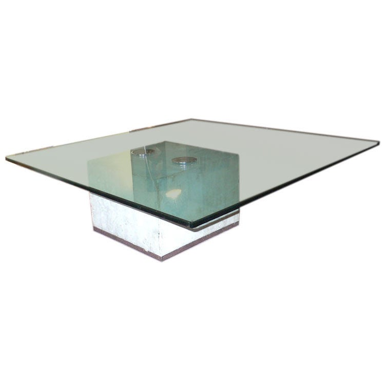large coffee table by Giovanni Offredi