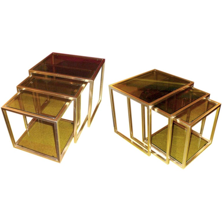 Pair Of Nesting Tables