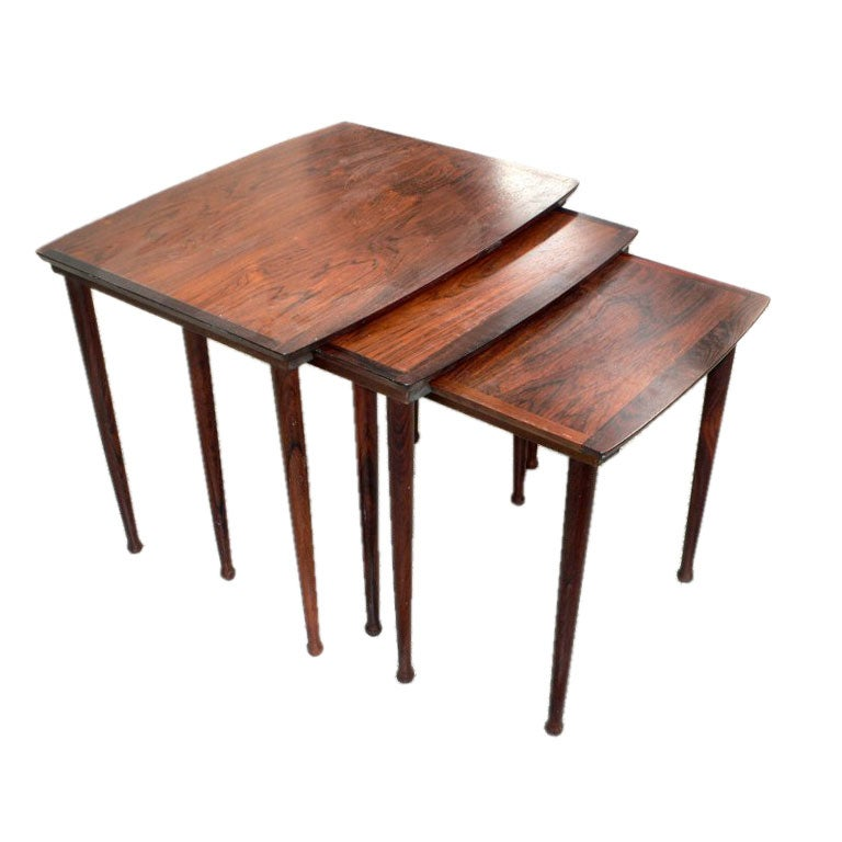 Rosewood Nesting Tables 1