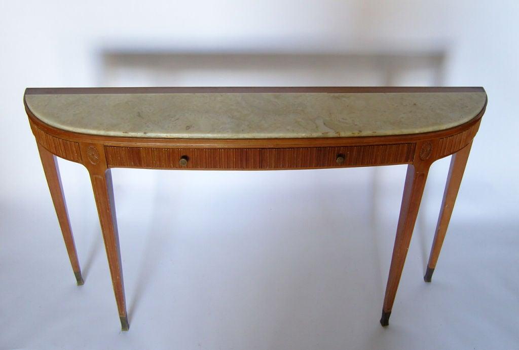 Fine Italian 1950's Console Table by Paolo Buffa 2