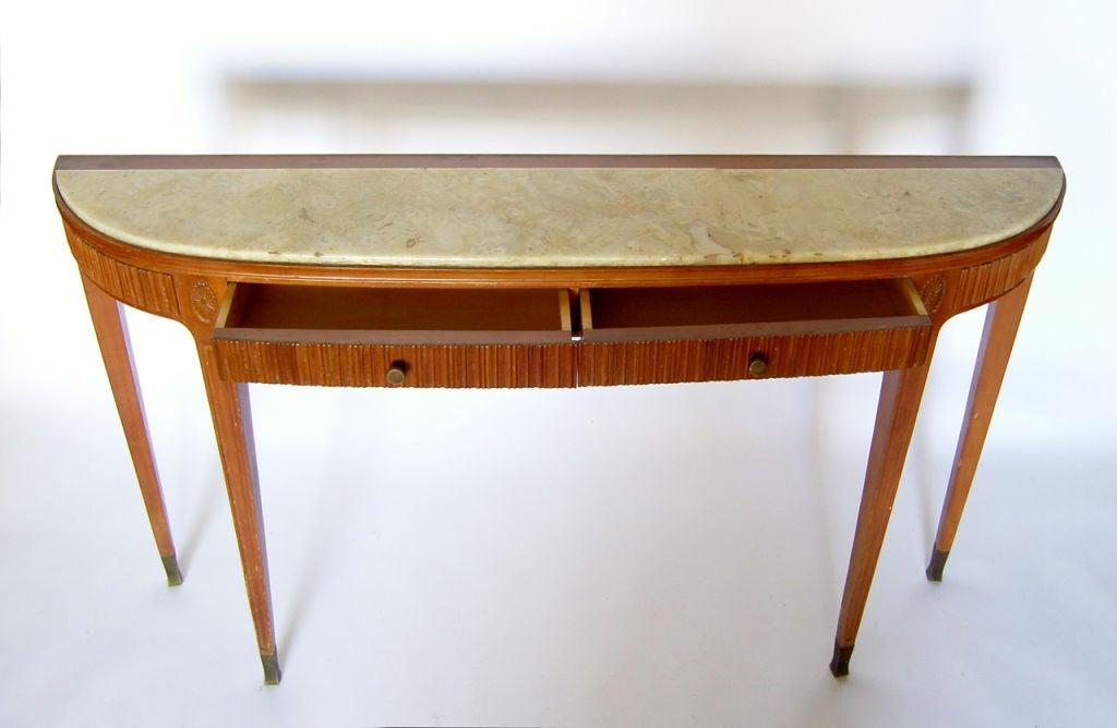 Fine Italian 1950's Console Table by Paolo Buffa 3
