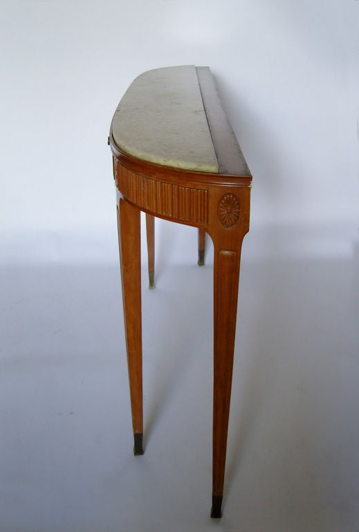 A Fine Italian 1950's Console by Paolo Buffa In Good Condition For Sale In Long Island City, NY