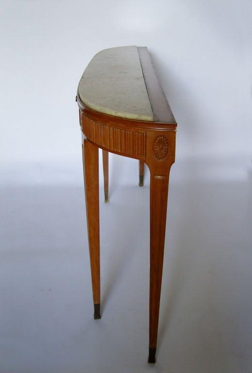 Fine Italian 1950's Console Table by Paolo Buffa 4