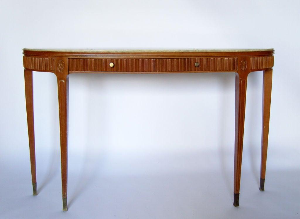 Fine Italian 1950's Console Table by Paolo Buffa 5