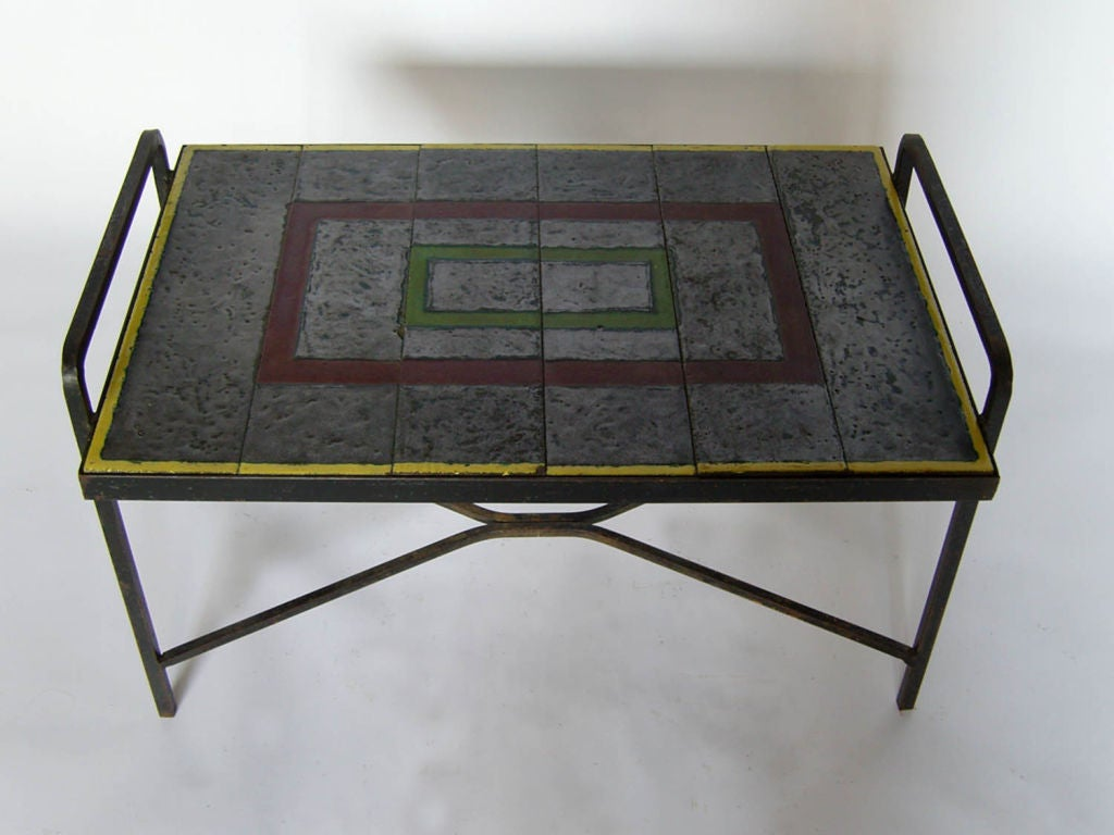 French Art Deco Coffee Table For Sale At 1stdibs