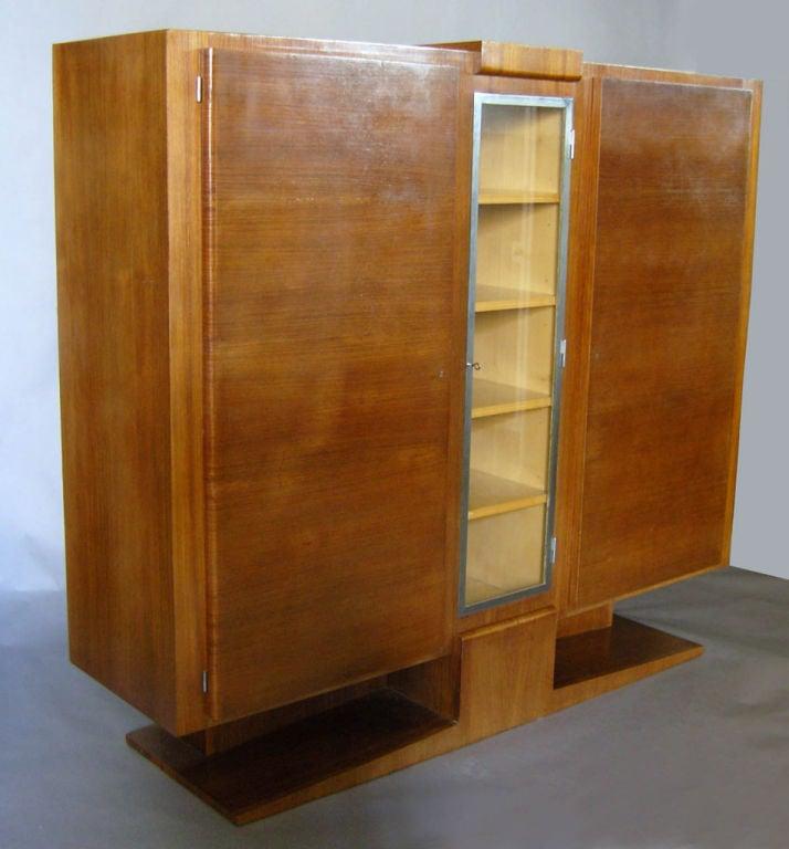 art deco wardrobe art deco figured walnut wardrobe vintage