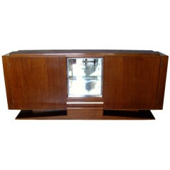 French Art Deco Rosewood Sideboard