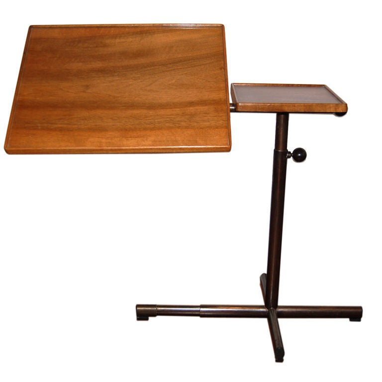 Adjustable Side Table Singapore: Adjustable Side Table By EMBRU At 1stdibs