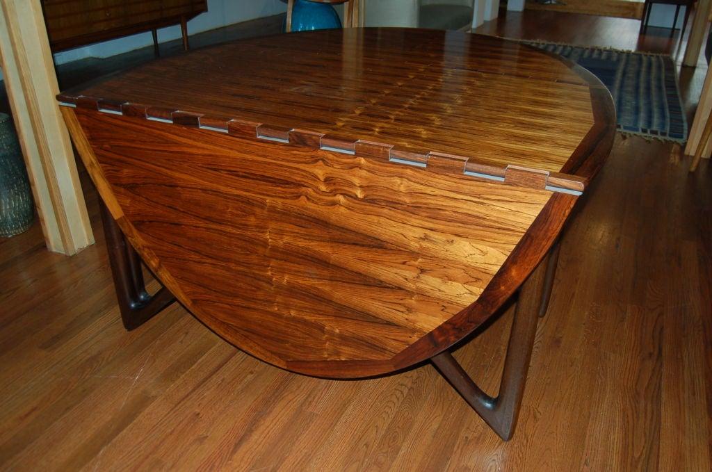 20th Century Dining Table by Kurt Östervig for Jason Möbler, Denmark, 1950s For Sale
