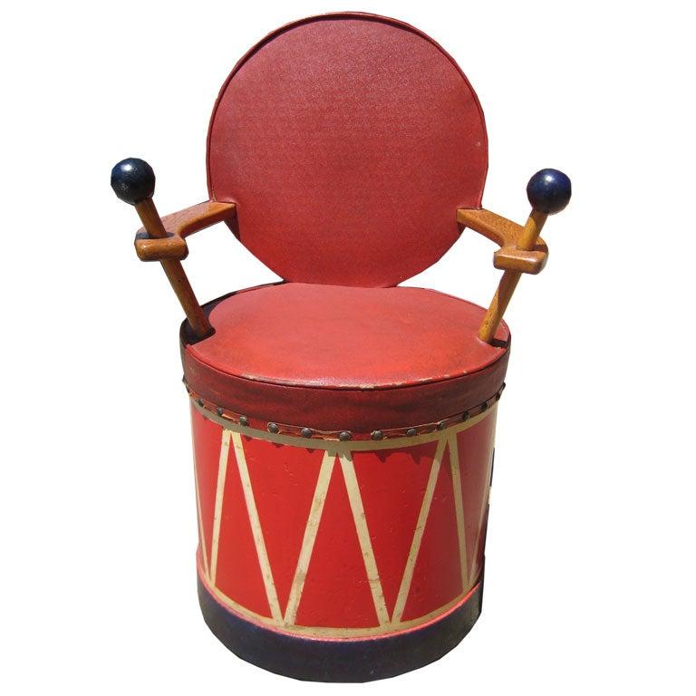 Child's Drum Chair