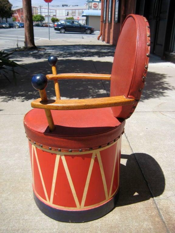 English Child's Drum Chair