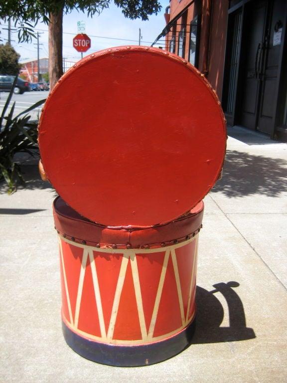 Mid-20th Century Child's Drum Chair