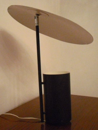 Rare george nelson half nelson desk lamp at 1stdibs for Half nelson table lamp