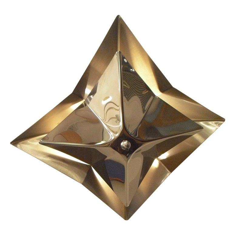 reggiani folding star light at 1stdibs